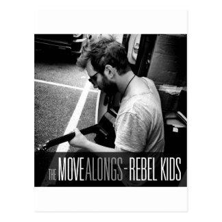 Movimiento rebelde Alongs de los Niños- Tarjeta Postal