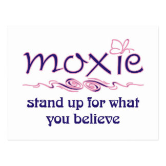 Moxie - levántese y crea postal