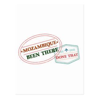 Mozambique allí hecho eso postal