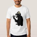 mr. brainwash monkey camiseta