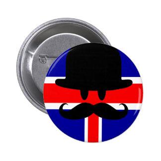 Mr.LONDON Chapa Redonda 5 Cm