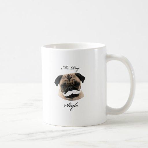 Mr. Pug Collection Taza