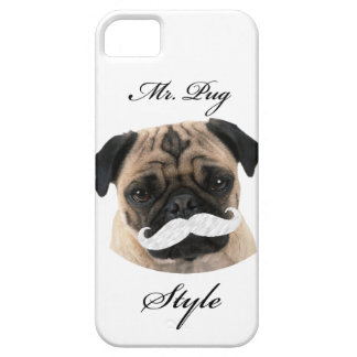 Mr. Pug Style Funda Para iPhone SE/5/5s