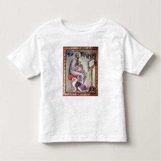 Ms 1 fol.90v St Luke, de los evangelios de Ebbo Camiseta De Bebé
