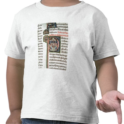 Ms 3 Fol. 291v el escape de Saint Paul de Damas Camiseta