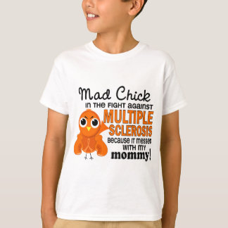 Ms enojado de la esclerosis múltiple de la mamá camiseta