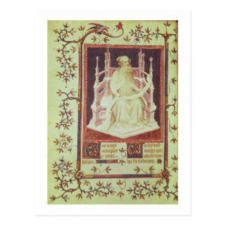 Ms Fr 13091 f.11v el profeta Isaías, a partir del  Postales