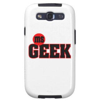 Ms Geek Samsung Galaxy Galaxy SIII Funda