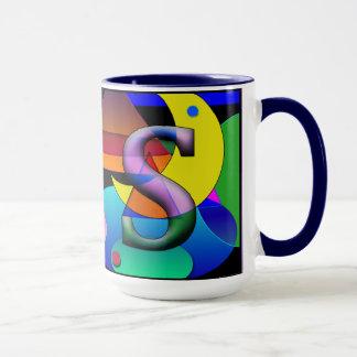 Ms Monogramed, taza de café rubricada