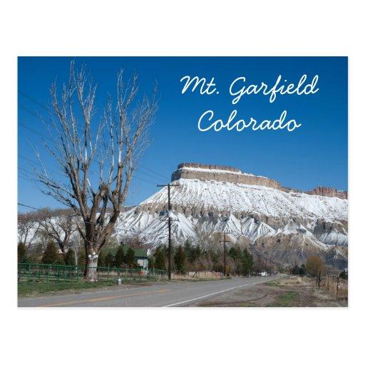 Mt. Garfield, Colorado Postales