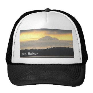 Mt. Volcán del panadero Gorros Bordados