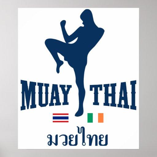Muay Tailandia tailandesa Irlanda Impresiones