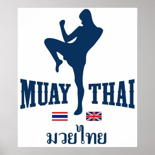 Muay Tailandia tailandesa Reino Unido Impresiones