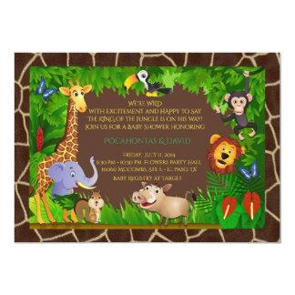 Muchacho de la fiesta de bienvenida al bebé, invitación 12,7 x 17,8 cm
