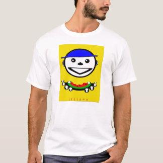 Muchacho de la sandía camiseta