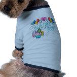 Muchacho del cumpleaños camisetas de perrito
