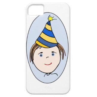 Muchacho del cumpleaños iPhone 5 Case-Mate carcasas