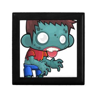 Muchacho del zombi cómico caja de regalo