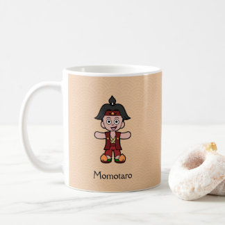 Muchacho japonés Momotaro del melocotón del héroe Taza De Café