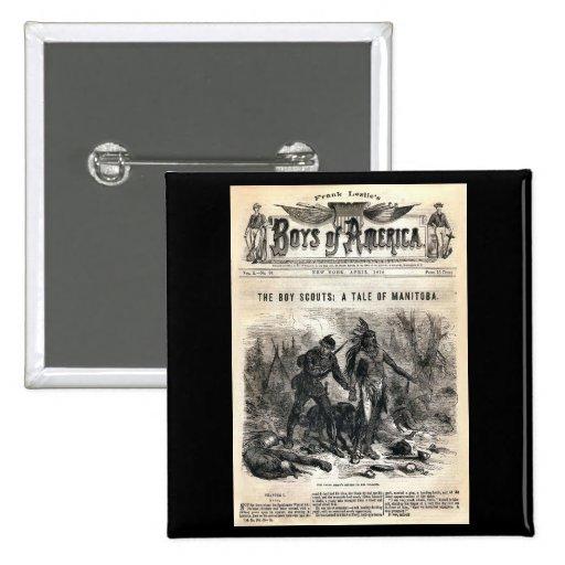 Muchachos de no. 56, 1878 de América vol. X. Pin
