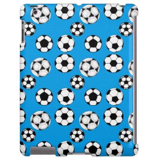 Muchachos del fútbol azules