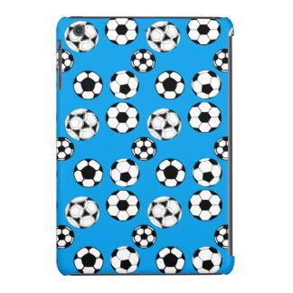 Muchachos del fútbol azules/MINI Fundas De iPad Mini