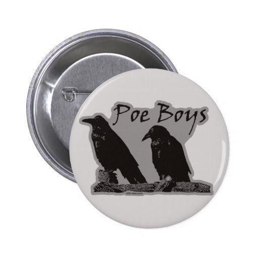Muchachos del Poe Pins