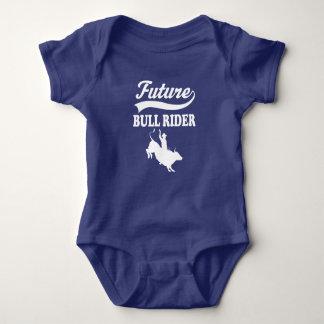 Muchachos futuros del rodeo del jinete de Bull Body Para Bebé