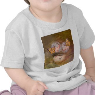 Muchachos o chicas gemelos del bebé camisetas