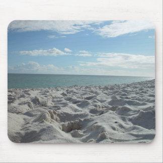 Muchas huellas en la playa de Wanneroo Tapetes De Raton