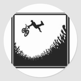 MUCHEDUMBRE BMX ETIQUETA REDONDA