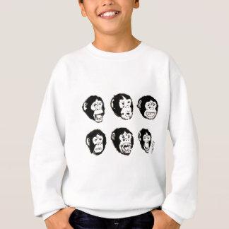 Muchos humores de Sr. Chimp Camisas