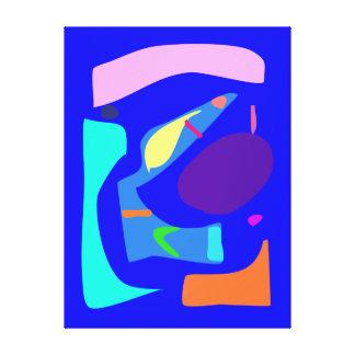 Muchos que bendicen las variaciones alegres modern lienzo envuelto para galerias