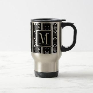 Mudprint inspiró la impresión del negro del taza de viaje