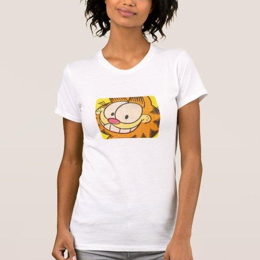 Mueca de Garfield, la camisa de las mujeres