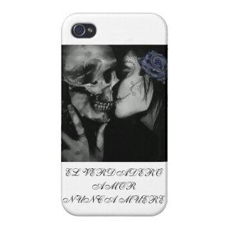 Muere del nunca del amor del verdadero del EL iPhone 4/4S Carcasa