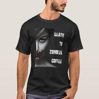 Muerte a la camiseta del café de los zombis