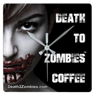 Muerte al reloj del café de los zombis
