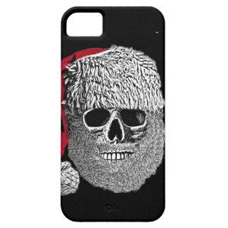 Muerte-cabeza del navidad del padre iPhone 5 cárcasas