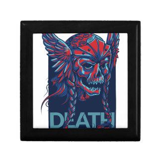 muerte con diseño del cráneo del vuelo joyero