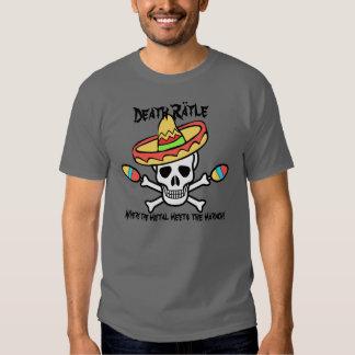Muerte Rättle Camisetas
