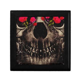 Muerte y flores caja de regalo