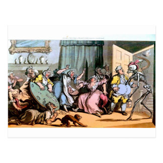 Muerte y la postal de las viejas criadas