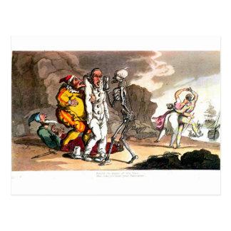Muerte y la postal del circo