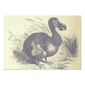 Muerto como tarjeta del Dodo Invitación 8,9 X 12,7 Cm