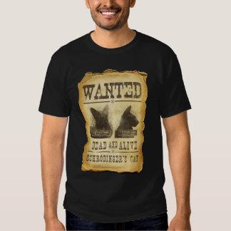 Muertos y vivo queridos.  El gato de Schroedinger Camisetas