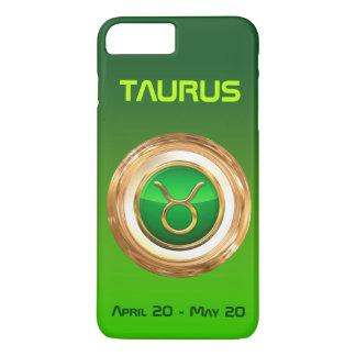 Muestra astrológica del tauro funda iPhone 7 plus
