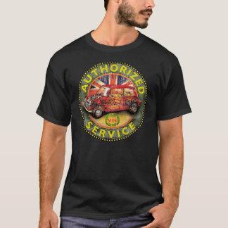 Muestra cortada del servicio de Austin del vintage Camiseta