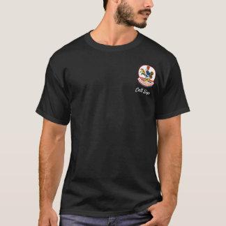 Muestra de alta tecnología de Eagle w/Call Camiseta