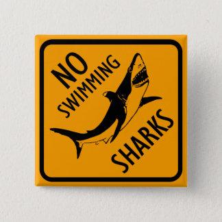 Muestra de Australia de los tiburones Chapa Cuadrada